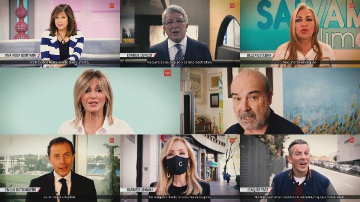 Madrid recurre a famosos para animar la vacunación - EXPANSIONTV