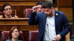 """Rufián acusa a Sánchez de """"irresponsable y negligente"""""""
