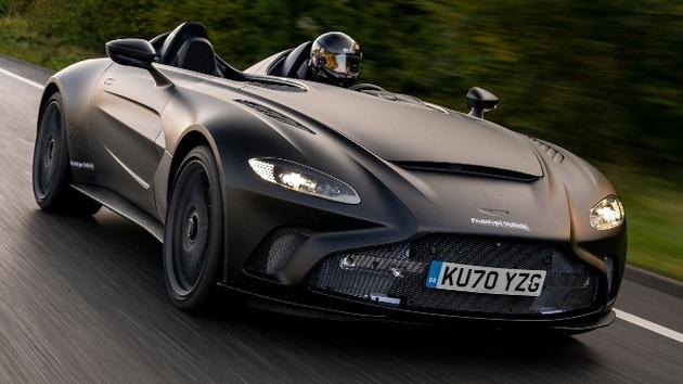 Así es el V12 Speedster, el Aston Martin inspirado en un caza de combate