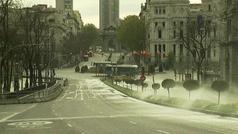 Madrid, una ciudad fantasma