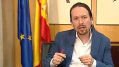"""Pablo Iglesias: """"La Constitución no es para enseñarla, es para aplicarla"""""""