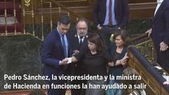 Adriana Lastra se hace un esguince en el arranque de legislatura