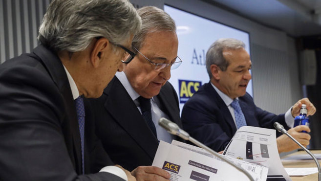 """Florentino Pérez: la alianza de ACS y Atlantia """"es un proyecto a largo plazo"""" - EXPANSION"""