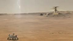 Así es Ingeunity, el primer helicóptero en sobrevolar Marte