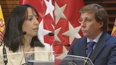 Pelea en la comparecencia entre Almeida y la nueva delegada del Gobierno, Mercedes González