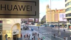 Así es la tienda de Huawei en Madrid: la más grande del mundo