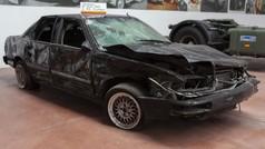 A subasta el coche en el que sufrió el atentado el expresidente Aznar