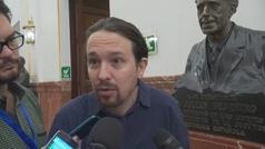 Pablo Iglesias dice que fue Junqueras quien le pidió que le vistara