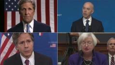 Las caras del gobierno de Biden