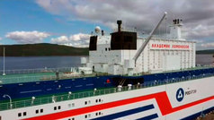 Rusia presenta la primera planta de energía nuclear flotante