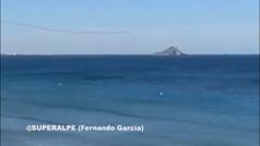 Otro avión del Ejército del Aire cae al mar frente a La Manga