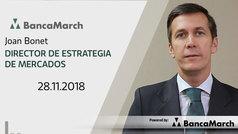 Análisis semanal de economía y mercados (28-11-2018)
