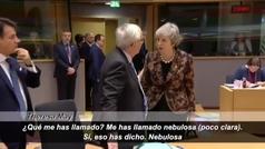Alta tensión en el Consejo Europeo con el contundente 'No' a Theresa May