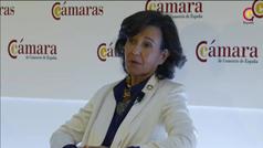 """Ana Botín: """"La palabra clave es confianza"""""""
