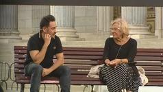 Manuela Carmena y Juan Antonio Bayona presentan la nueva campaña de 'España Global'