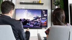 Así se ve la primera tele 8K que se comercializa en España: Samsung QLED 8K