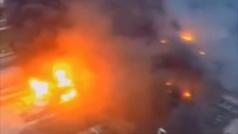 Las impactantes imágenes de la trágica explosión en una planta química de China
