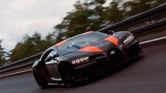Bugatti Chiron alcanza la velocidad récord de 490 kilómetros por hora