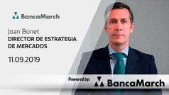 Análisis semanal de economía y mercados (11-09-2019)