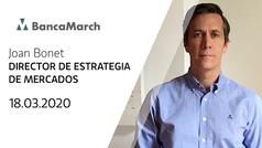Análisis semanal de economía y mercados (18-03-2020)