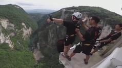Así es el salto al vacío más alto del mundo