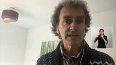 """Fernando Simón, por videoconferencia: """"Las medidas están teniendo poco a poco el efecto deseado"""""""