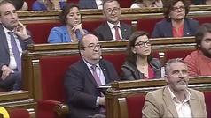 El Parlament rechaza la designación de Iceta como senador