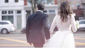 La boda de Carlye y Ben en Nueva York