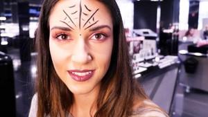 Maquillaje de Halloween: Mujer araña