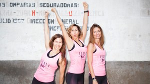 Segundo entrenamiento Sports Angels by Fitbit