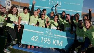 III Maratón por relevos femenina 2016