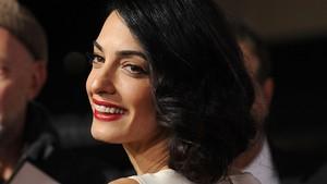 ¡Quero el long bob de Amal Clooney!