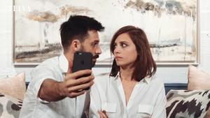 Hugo Silva y Michelle Jenner en