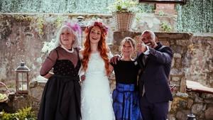 Una boda en una casona asturiana
