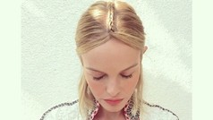 ¡Quiero la trenza boho de Kate Bosworth!
