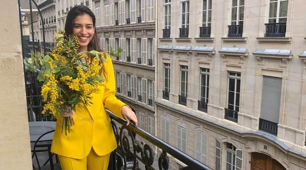 Marina Testino: así fue nuestro día con ella en París Fashion Week