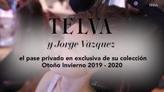 Desfile de Jorge Vázquez exclusivo para TELVA