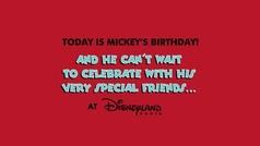 Las celebrities felicitan a Mickey Mouse en su 90 cumpleaños