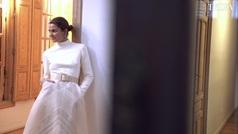 El vestido de novia de Alejandra de Rojas