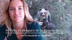 Si Felix Rodríguez de la Fuente fuera... (por Odile, su hija)