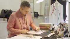 Así es el proceso de creación del vestido Carolina, de Pronovias