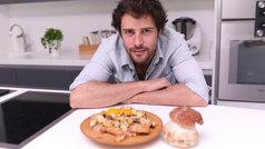 Tosta de boletus con huevo cremoso, por Javier Cocheteux