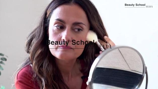 Maquillaje con efecto buena cara