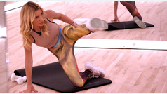 El entrenamiento quemagrasa de piernas de Tracy Anderson