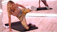 El entrenamiento quemagrasa de piernas de Tracy Anderson