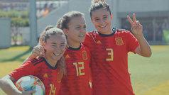 La selección española Sub-17 de fútbol femenino, Premio TELVA al Deporte 2019
