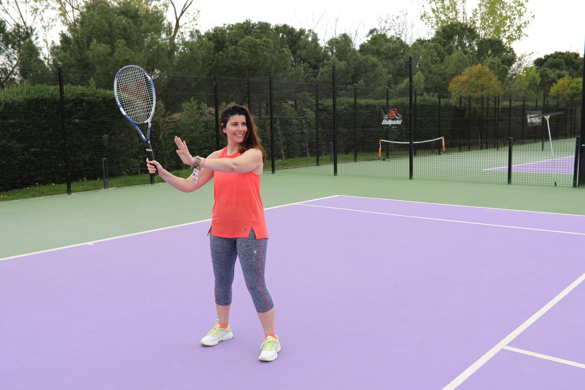 el tenis es bueno para adelgazar