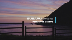 Subaru presenta Pequeños gestos