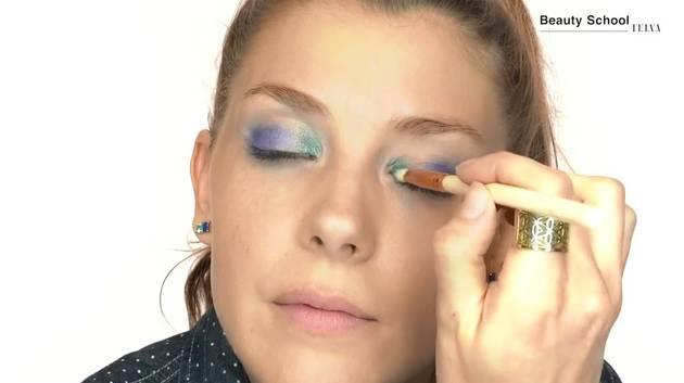 Maquillaje atrevido para el festival