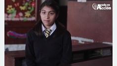 Neehta cuenta su historia para el proyecto #YoSoyElla por el Día Internacional de la Mujer